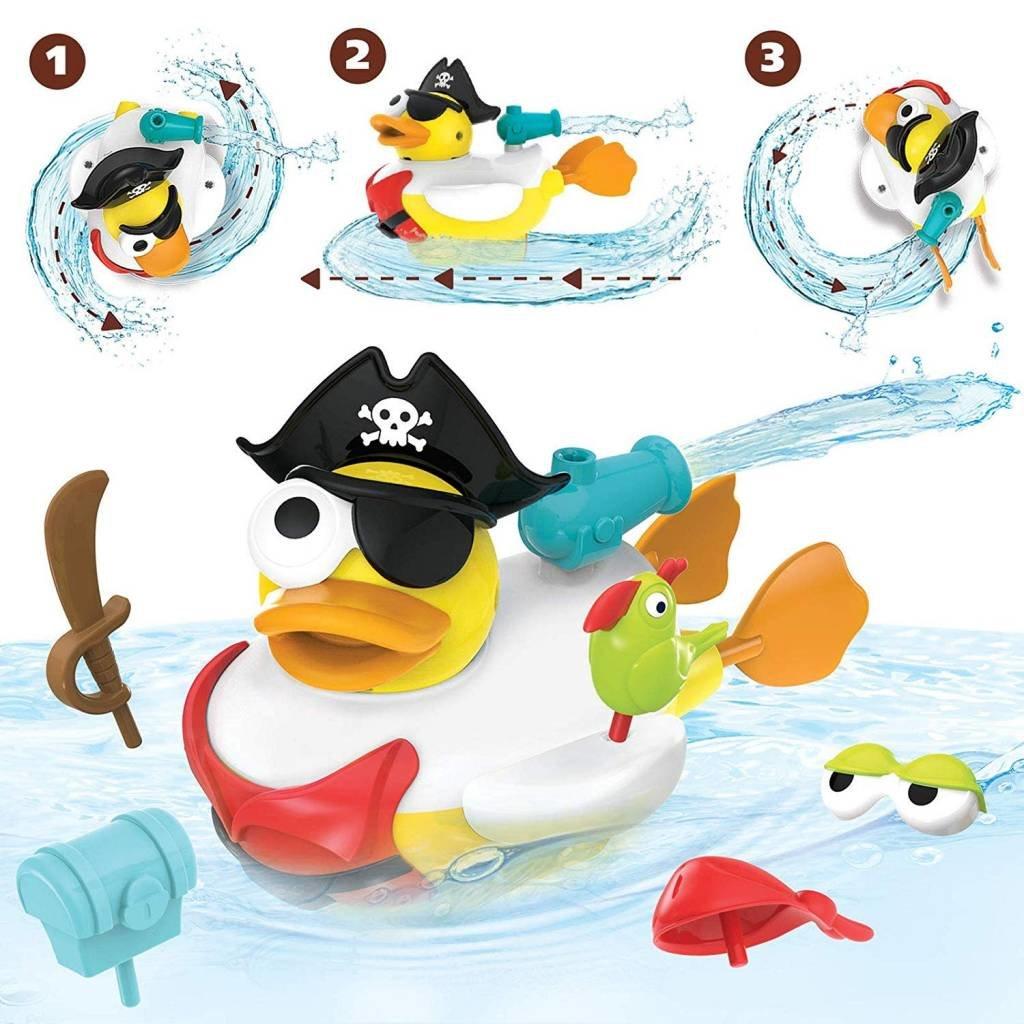 Yookidoo Bath Jet Duck Pirate