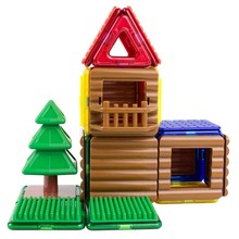 Magformers Magformers Magnetic Log Cabin Set