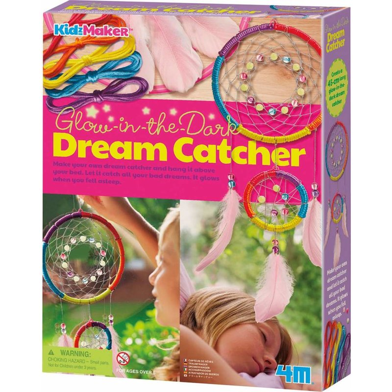 4M Craft Make Your Own Dream Catcher