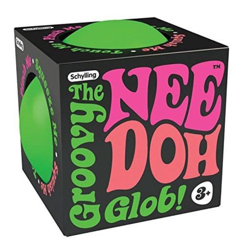 Nee Doh Glow The Groovy Glob