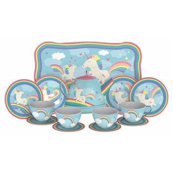 Schylling Tea Set Tin Unicorn