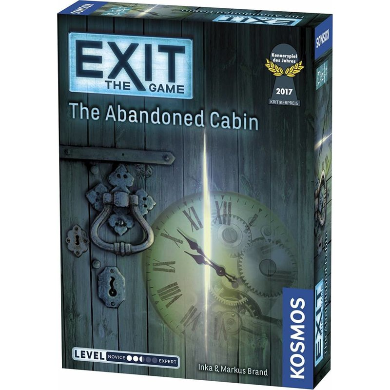 Exit Game: Abandoned Cabin (Level 2.5)