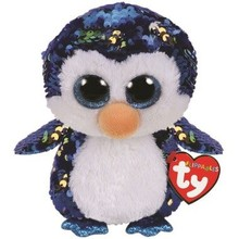 Ty Ty Flippables Sequin Medium Payton Penguin