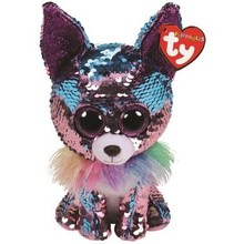 Ty Ty Flippables Sequin Medium Yappy Chihuahua
