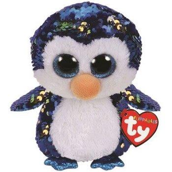 Ty Flippables Sequin Payton Penguin