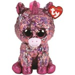 Ty Ty Flippables Sequin Sparkle Pink Unicorn