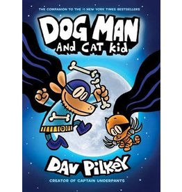 Scholastic Scholastic Book Dog Man #4 Dog Man and Cat Kid