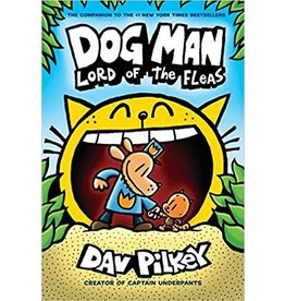 Scholastic Scholastic Book Dog Man #5 Lord of the Fleas