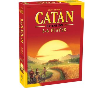 Catan Game 5-6 Player Extension