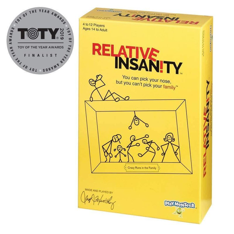 Playmonster Game Relative Insanity