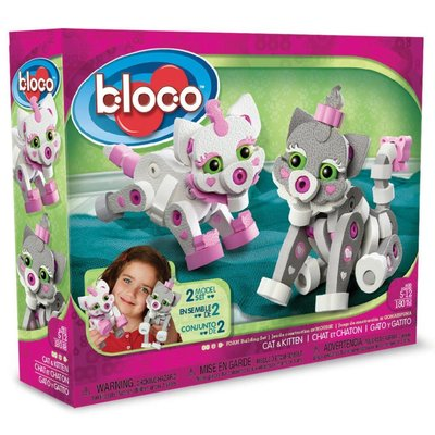 Bloco Bloco Build a Friend Cat & Kitten