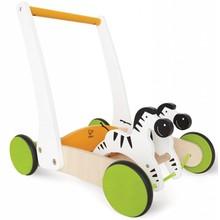 Hape Toys Hape Galloping Zebra Cart