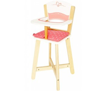Hape Doll Furniture Wood Highchair