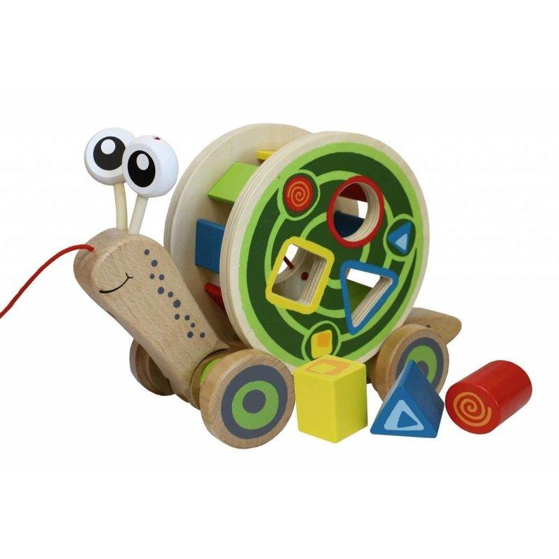Hape Toys Hape Baby Walk Along Snail