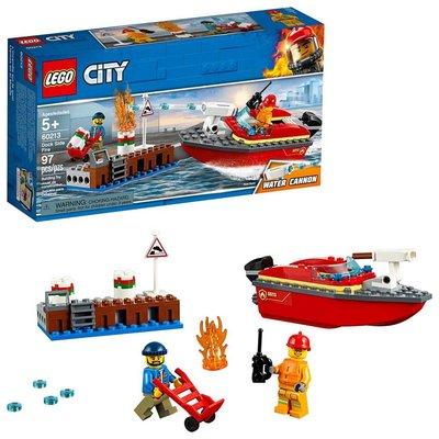 Lego Lego City Dock Side Fire