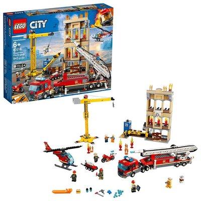 Lego Lego City Downtown Fire Brigade