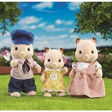 Calico Critters Calico Critters Family Fluffy Hamster