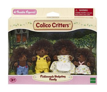 Calico Critters Family Pickleweeds Hedgehog