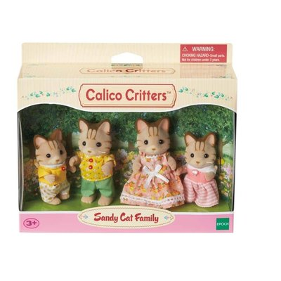 Calico Critters Calico Critters Family Sandy Cat