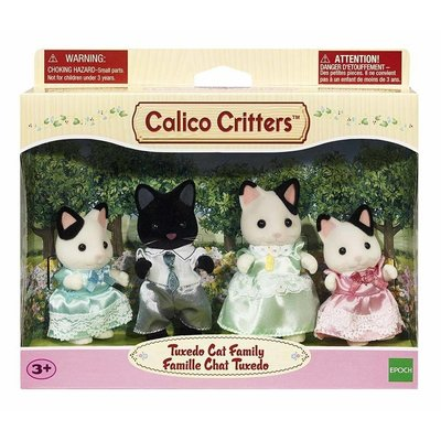 Calico Critters Calico Critters Family Tuxedo Cat