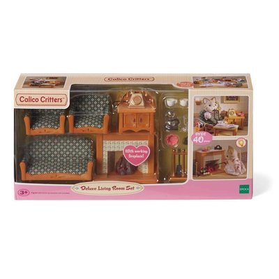 Calico Critters Calico Critters Room Deluxe Living Room Set