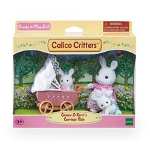 Calico Critters Calico Critters Set Connor & Kerri's Carriage Ride