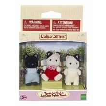 Calico Critters Calico Critters Triplets Tuxedo Cats