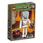 Lego Lego Minecraft Skeleton Big Fig with Magma Cube