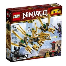 Lego Lego Ninjago The Golden Dragon