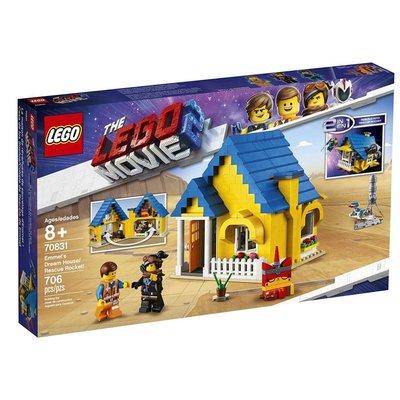 Lego Lego The Movie Emmet's Dream House Rescue Rocket
