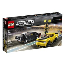 Lego Lego Speed Champions 2018 Dodge Challenger SRT Demon and 1970 Dodge Charger