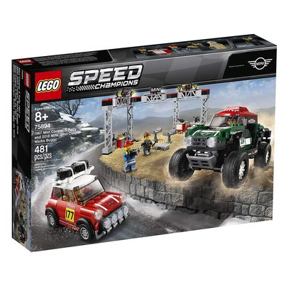 Lego Lego Speed Champions 1967 Mini Cooper & 2018 Mini Cooper