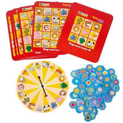 Noggin Playground Noggin Playground Game BZZZ Oink Bingo