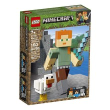 Lego Lego Minecraft Alex BigFig with Chicken