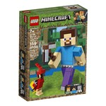 Lego Lego Minecraft Steve Big Fig with Parrot