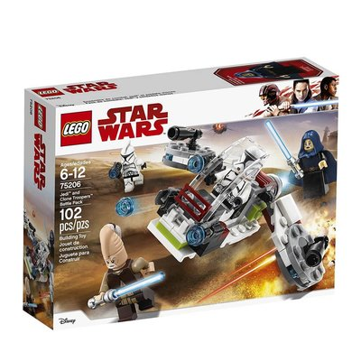 Lego Lego Star Wars Jedi & Clone Troopers Battle Pack