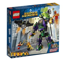 Lego Lego Super Heroes Lex Luthor Mech Takedown
