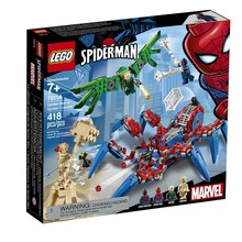 Lego Lego Super Heroes Spiderman Spider Crawler