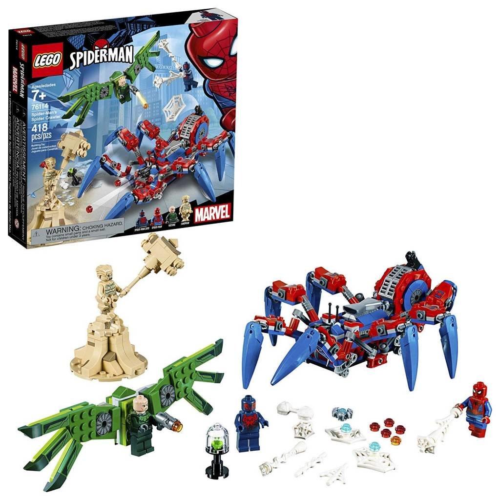 Lego Super Heroes Spiderman Spider Crawler