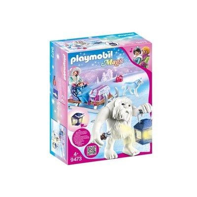 Playmobil Playmobil Crystal Palace Yeti with Sleigh
