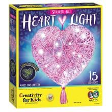 Creativity for Kids Creativity for Kids String Art Heart Light