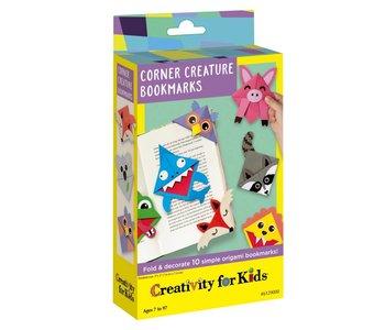 Creativity for Kids Mini Corner Creature Bookmarks