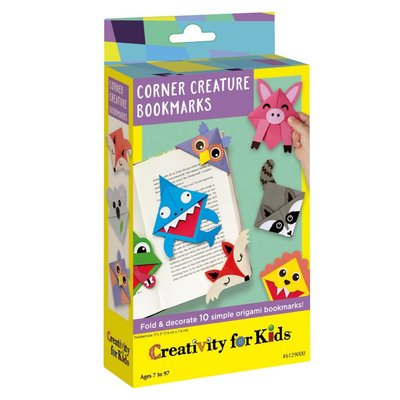 Creativity for Kids Creativity for Kids Mini Corner Creature Bookmarks