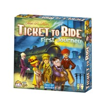 Days of Wonder Ticket to Ride Game First Journey