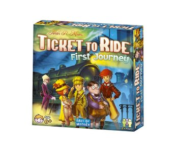 Ticket to Ride Game First Journey