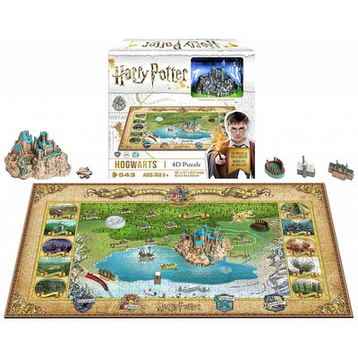 Outset Media 4D Puzzle Harry Potter Hogwarts