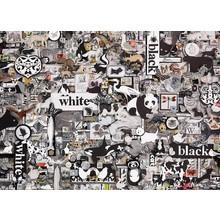 Cobble Hill Puzzles Cobble Hill  Puzzle 1000pc Black & White Animals