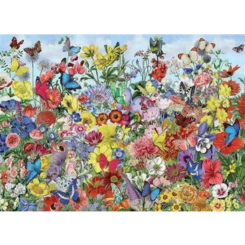 Cobble Hill Puzzles 1000pc Butterfly Garden