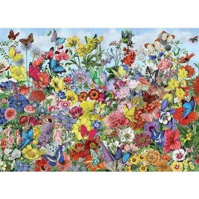 Cobble Hill Puzzles Cobble Hill Puzzle 1000 pc Butterfly Garden