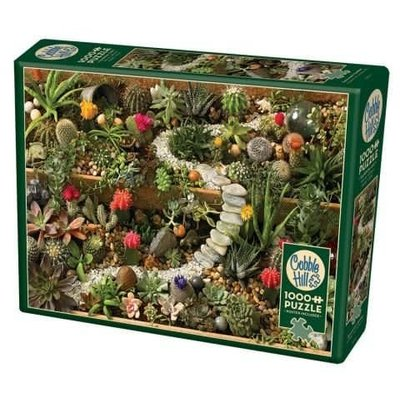 Cobble Hill Puzzles Cobble Hill  Puzzle 1000pc Succulent Garden